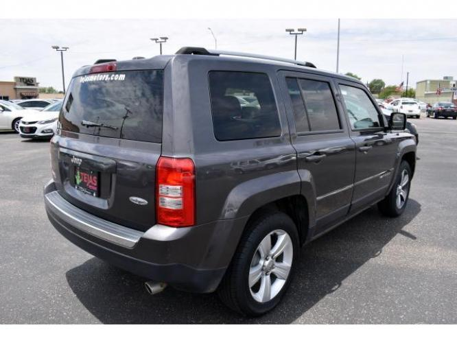 2016 Gray /Dark Slate Gray Jeep Patriot FWD 4dr Latitude (1C4NJPFA2GD) , Automatic transmission, located at 4110 Avenue Q, Lubbock, 79412, (806) 687-6878, 33.556553, -101.855820 - Photo #1