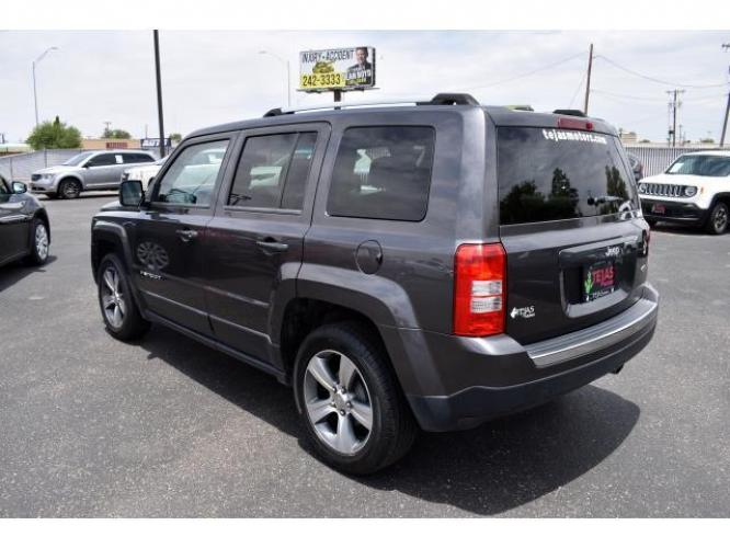 2016 Gray /Dark Slate Gray Jeep Patriot FWD 4dr Latitude (1C4NJPFA2GD) , Automatic transmission, located at 4110 Avenue Q, Lubbock, 79412, (806) 687-6878, 33.556553, -101.855820 - Photo #2
